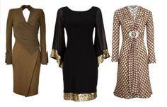 Imagens de  Vestidos com mangas para senhoras [8]