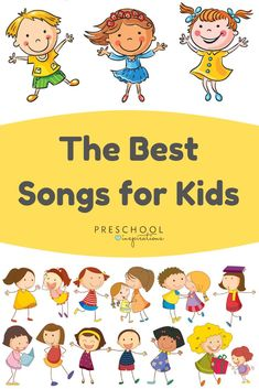 Find some of the best songs for kids and toddlers, all in one place! Music and movement, animal songs, popular songs, and more. - Kids education and learning acts Kindergarten Songs, Preschool Music, Music Activities, Preschool Themes, Preschool Action Songs, Preschool Education, Toddler Activities, Classic Nursery Rhymes, Nursery Rhymes Songs