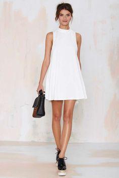 Nasty Gal White Lie Dress - Dresses |  | 30% Off