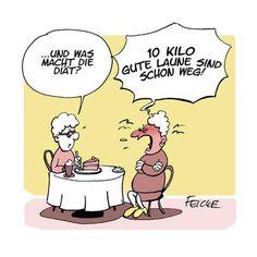 """Feicke mit """"Diät"""""""