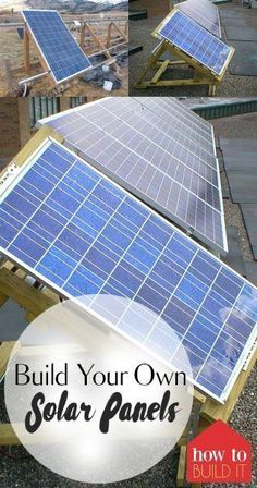 Build Your Own Solar Panels| DIY Solar Panels, Solar Panel Projects, Homemade Solar Planels, DIY Home Decor, Sustainable Living, Build Your own Solar Panels