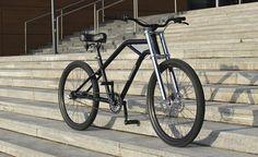 Wingman Bobber from Wingman Bikes. #bicycle #bike #cruiser #custombicycle #cycle