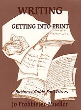 Writing: Getting Into Print is a marketing and business guide for writers. It will teach you how to turn your dreams into reality, how to sell what you write, and how to develop a writing business. This book will direct you through the process of generating ideas, creating marketable products, identifying appropriate buyers, and making sales of manuscripts to publishers of both periodicals and books.