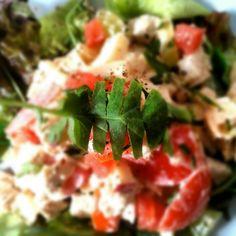 Waldorf Salad - À Catanada na Cozinha Waldorf Salad, Stuffed Peppers, Vegetables, Food, Kitchen, Ideas, Veggies, Vegetable Recipes, Meals