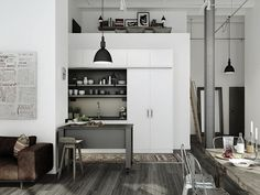 leather factory apartments outside of stockholm, for sale through oscar properties