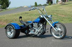 Custom Harley Davidson Motorcycles | Motorcycle Trikes Picture 2007 Rewaco Custom Harley Davidson Chopper