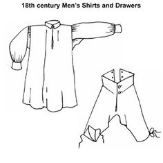 19a5cc6407de Multi-sized to fit chests patterns with complete instructions and  historical notes for century mens shirts and drawers based on extant  examples.