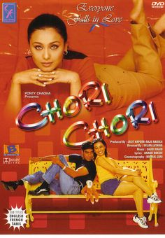 Chori Chori, Everyone falls in Love (Milan Luthria) - 2003 IND - Ajay Devgan Hindi Movies Online, Indian Movies, Bollywood Actors, Falling In Love, Music, Architects, Milan, Movie Posters, Celebs