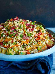 Marokkansk inspirert couscoussalat