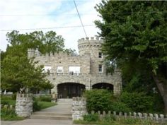 Tiffany Castle in KC, MO-I drive by this one when I am looking at the old homes in the Pendleton Heights area of KCMO