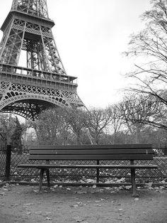 4.) Paris, France.  (this bench)
