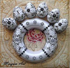 Věneček a vajíčka * patchwork