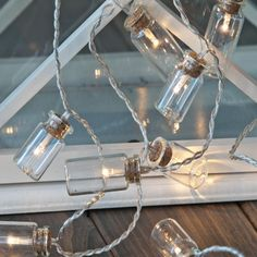 #ukchristmasworld #barnsley #christmas #decoration #festive #display #lights #led #string #jar #warmwhite http://www.ukchristmasworld.com/Shop/Indoor-Christmas-Lights/Battery-Christmas-Lights/5052-LED-Lights-in-Jars-Lit-Garland-(Warm-White).html
