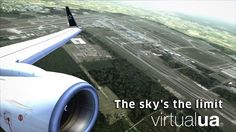 Come and join us so we share the unlimited skies together. See you soon www.virtualua.org #virtualunited