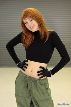 Kim Possible cosplay...I'm so glad a ginger