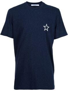 GIVENCHY Star Print T-Shirt. #givenchy #cloth #t-shirt