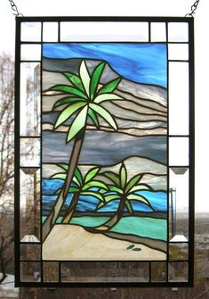 Image result for tropical stained glass #StainedGlassOcean
