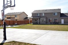 backyard basketball court   Backyard/Basketball Court   Flickr - Photo Sharing!