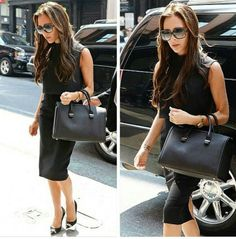 forever classy and chic Victoria Beckham