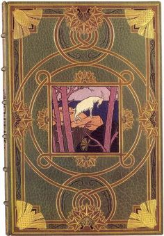 """Adolphe Giraldon, cover of """"Les Éclogues"""" 1906 --- just pretty"""