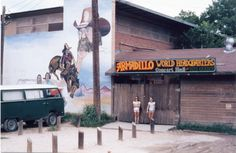 Armadillo World Headquarters, Austin, Texas. RIP. Best damn music club in the South during the '70s. Tore it down to build a bank. Bank failed. Karma is a bitch.