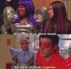 We're all freaks together