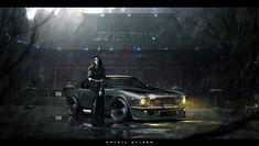 Conceptual Car Designs by Khyzyl Saleem
