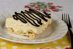 cream puff dessert via whatever!  oh no I'm in trouble with this recipe!