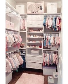 Amazing 32 Best Home Decor Sites Uk To broaden our home décor horizons and discover some new wares, we asked leading interior designers to open their … Baby Bedroom, Closet Bedroom, Baby Room Decor, Girls Bedroom, Bedroom Decor, Baby Girl Closet, Kid Closet, Closet Ideas, Baby Nursery Closet