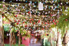 #Decoração com Tsurus no #casamento é muito lindo!!