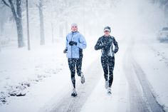 love running in the snow!