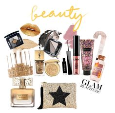 """""""Don't be afraid to shine"""" by celinnnne on Polyvore featuring beauté, Victoria's Secret, Christian Dior, Yves Saint Laurent, NYX, Givenchy, Avon, Urban Decay, Sephora Collection et Lisa Bea"""