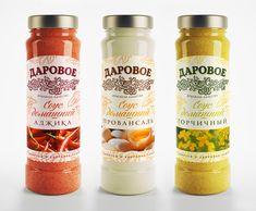 Package design for the sauces. Дизайн упаковки для соусов от студии Supremum Design. #packagedesign #inspiration