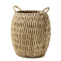 The Poppy Baskets are available in 2 different sizes which can be mixed and matched throughout your home or office. These natural hand made baskets make fantastic additional storage or can also be used as a pot plant holders to provide additional textures and themes in your styling.