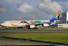 """South African Airways Airbus wearing the """"Olympic Games"""" livery Perth Airport, Fly Safe, Best Airlines, Passenger Aircraft, Airplane Design, Aircraft Painting, Best Flights, Civil Aviation, Aircraft Pictures"""