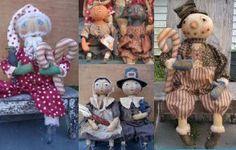 Cloth Doll Patterns by Maureen Mills
