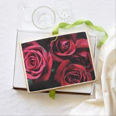 4 Red Roses Jumbo Cookie