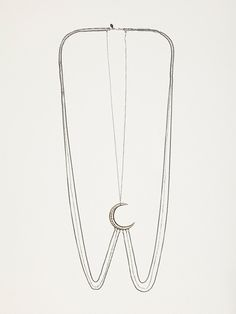 Ax + Apple Moon Body Chain at Free People Clothing Boutique