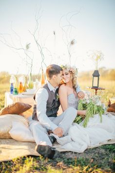 Boho Vintage Inspiration Shoot ~ Wilder Ranch, Santa Cruz, California Wedding Styling & Photography