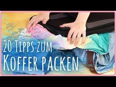 ▶ 20 Tipps zum Koffer / Tasche packen - YouTube
