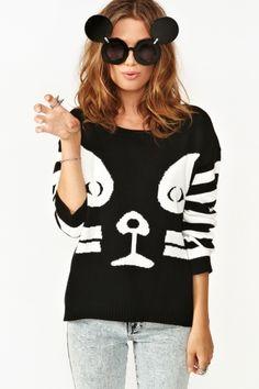Kissy Face Knit