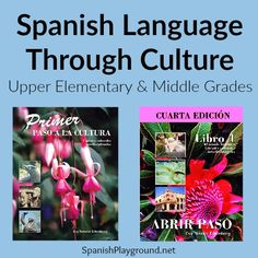 Spanish language and culture in engaging activities for elementary and middle grades. Materials from Miraflores teach Spanish through cultural themes. Spanish Classroom Activities, Spanish Teaching Resources, Spanish Language Learning, Language Activities, Classroom Ideas, Spanish Songs, How To Speak Spanish, Learn Spanish, Spanish Lesson Plans