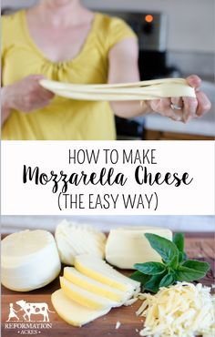 I've been doing it all wrong! This is such a super easy way to make really good mozzarella cheese!