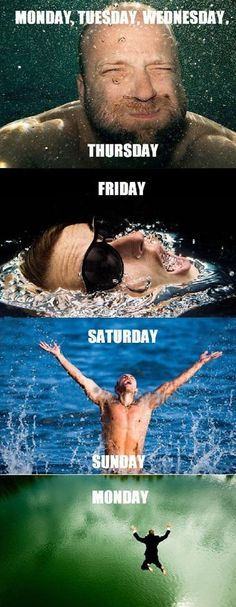 LOL - How my week works - www.funny-pictures-blog.com