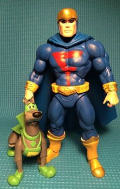 Blue Falcon and Dynomutt (Masters of the Universe) Custom Action Figure 1980s Toys, Retro Toys, Future Quest, Dc Rebirth, Hanna Barbera, How To Make Comics, Custom Action Figures, Sideshow Collectibles, Classic Toys
