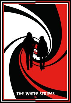 Meg White, Jack White, The White Stripes, Concert Posters, Music Posters, Gig Poster, Festival Posters, Rock Y Metal, Rock Band Posters