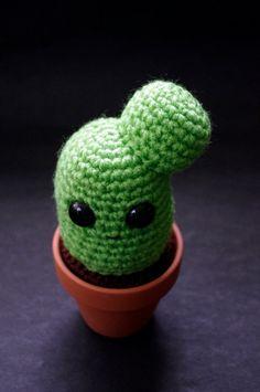 Cactus Amigurumi Plant Charlie Prickles Green Cozy by Cyclop, $17.00