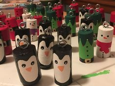 Creative and Easy Christmas Crafts for Kids – Wine Cork Ornaments - Learn how to make super easy Christmas crafts for kids – wine cork ornaments! You can pick up all - Cork Christmas Trees, Christmas Crafts For Kids, Diy Christmas Ornaments, Simple Christmas, Holiday Crafts, Easy Ornaments, Snowman Ornaments, Summer Crafts, Wine Craft