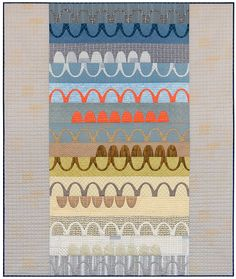 Catenary Quilt by Carolyn Friedlander, a beautiful quilt | Mary & Patch