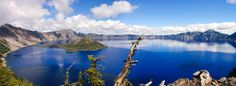 Crater Lake, Oregon. Went here years ago... absolutely beautiful!!
